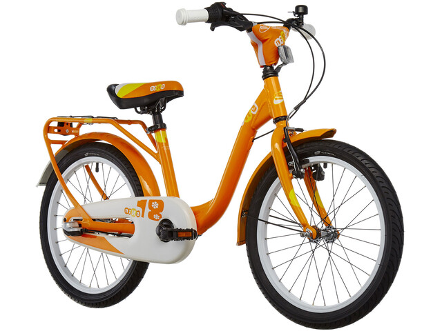 s'cool niXe 18-3 Børnecykel orange (2019) | City